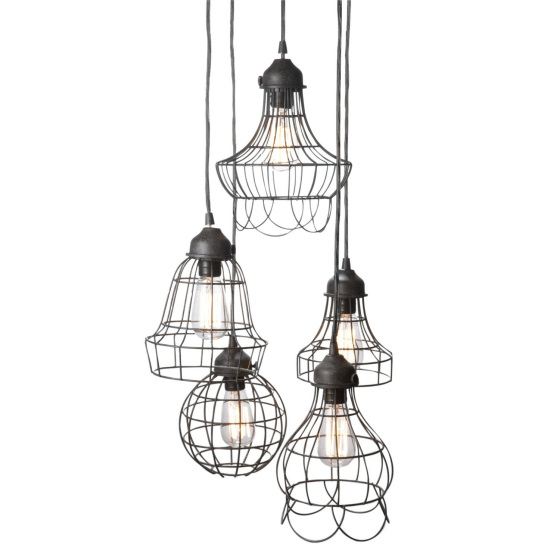 industrial wire pendant lamp etc bloomize