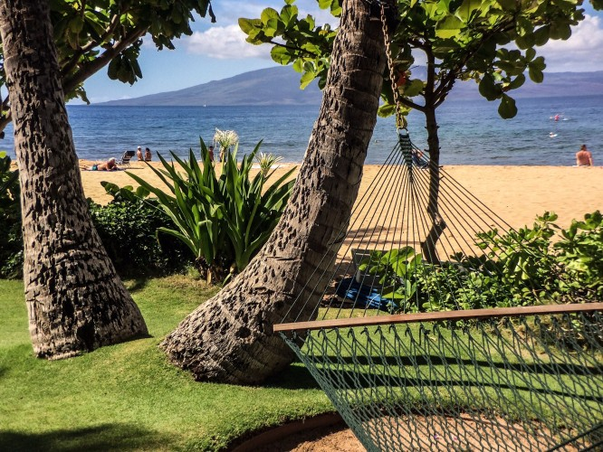 Lanai as seen from Maui