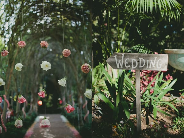 Flower Backdrop The Perfect DIY Wedding Project
