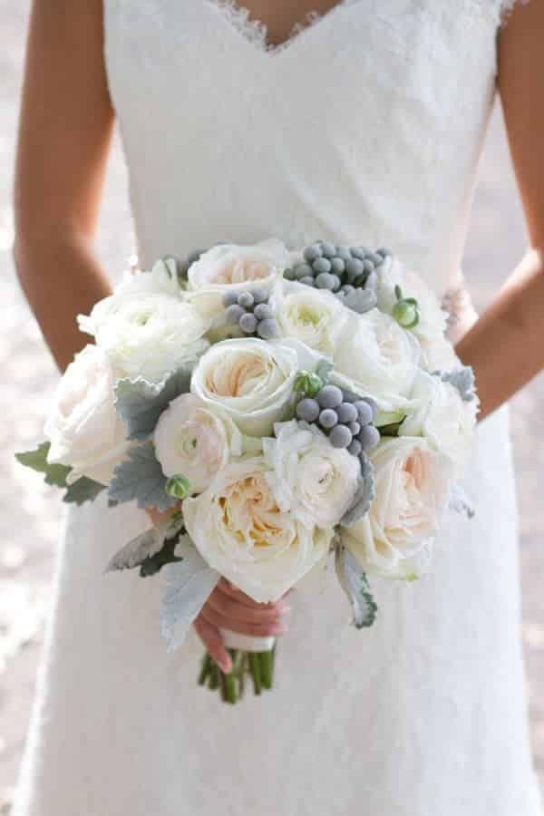 Gorgeous Winter Wedding Bouquet Recipe  Budget Friendly Beauty