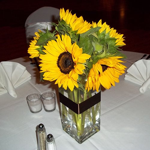 Sunflowers (5-6st) in your choice container