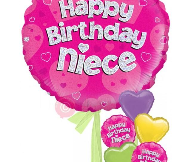 Happy Birthday Niece Holographic