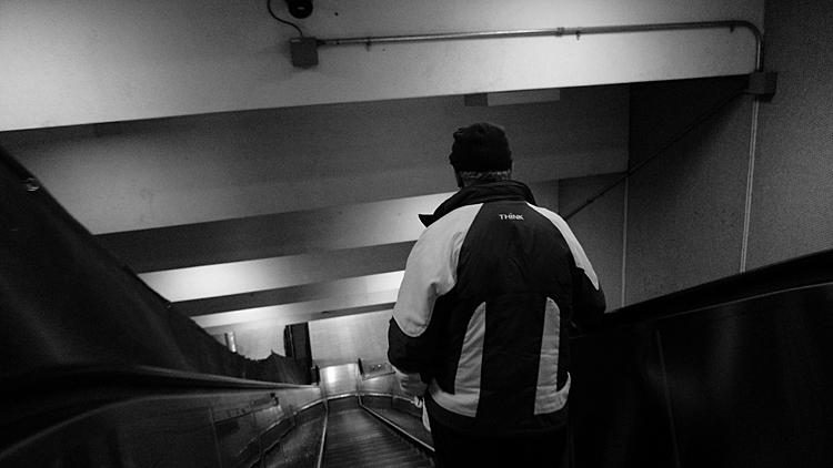 Think. Metro Berri-UQAM.