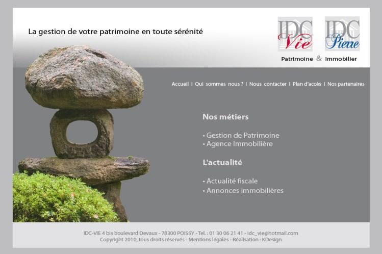 Site internet – IDC-VIE