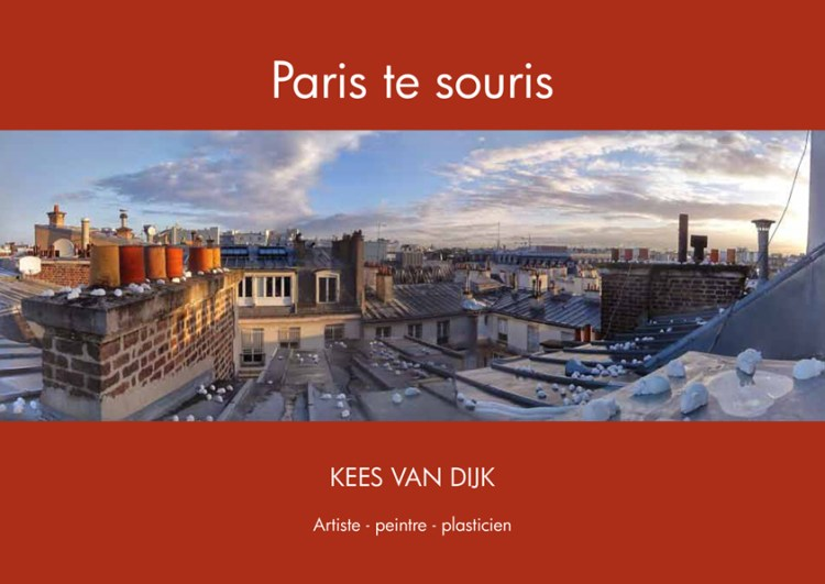 Brochure Paris te souris – Kees Van Dijk
