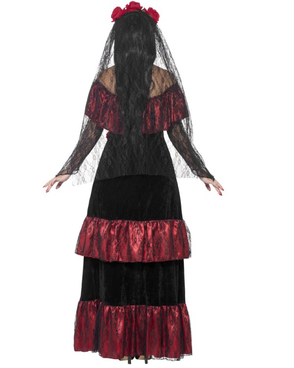 Day of the Dead Bride Halloween Costume