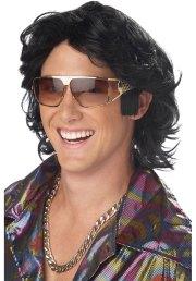 w219 70s feather hair disco ladies