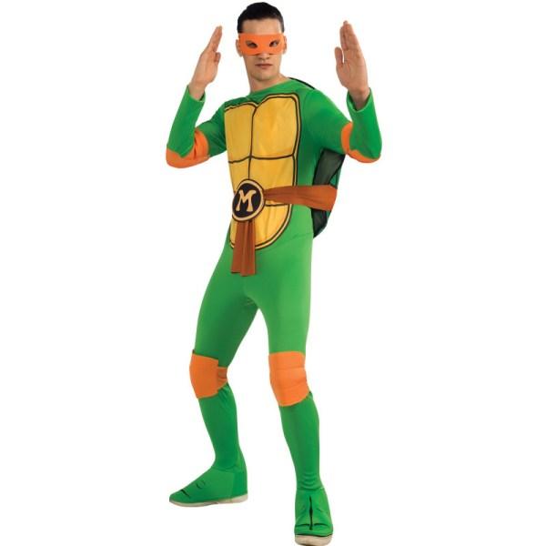 C890 Teenage Mutant Ninja Turtles Tmnt Donatello Michelangelo Adult Costume