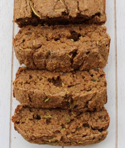 Healthy Zucchini Bread {Oil-free + Gluten-Free + Vegan} || Journey to Fit: Day 7