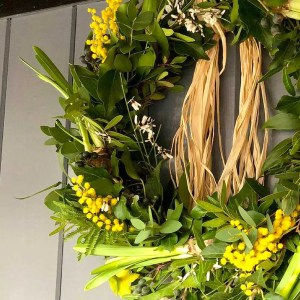 spring wreath made to order 1