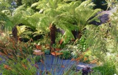 The Bowel Disease Garden Hampton Court