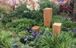 Red thread garden design by Robert Barker
