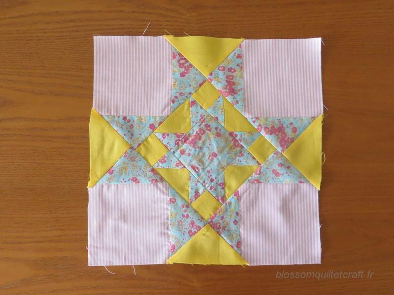 bloc central patchwork pour round robin