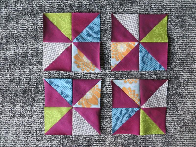 Pinwheel bloc
