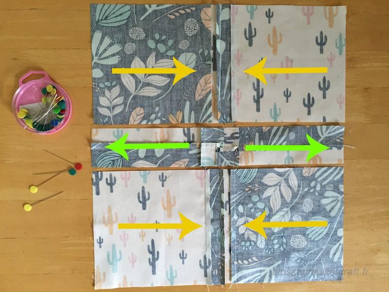 patchwork tutoriel