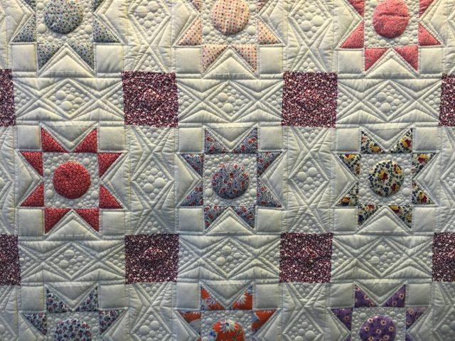 Matelassage patchwork etoile