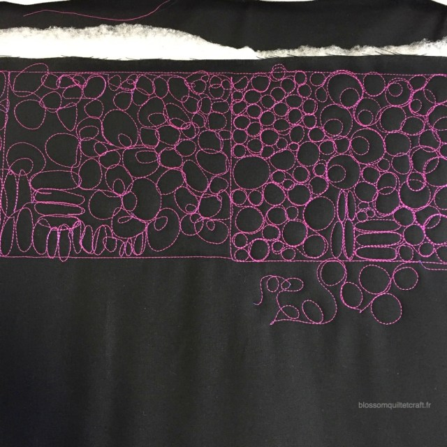 exercise long arm quilting