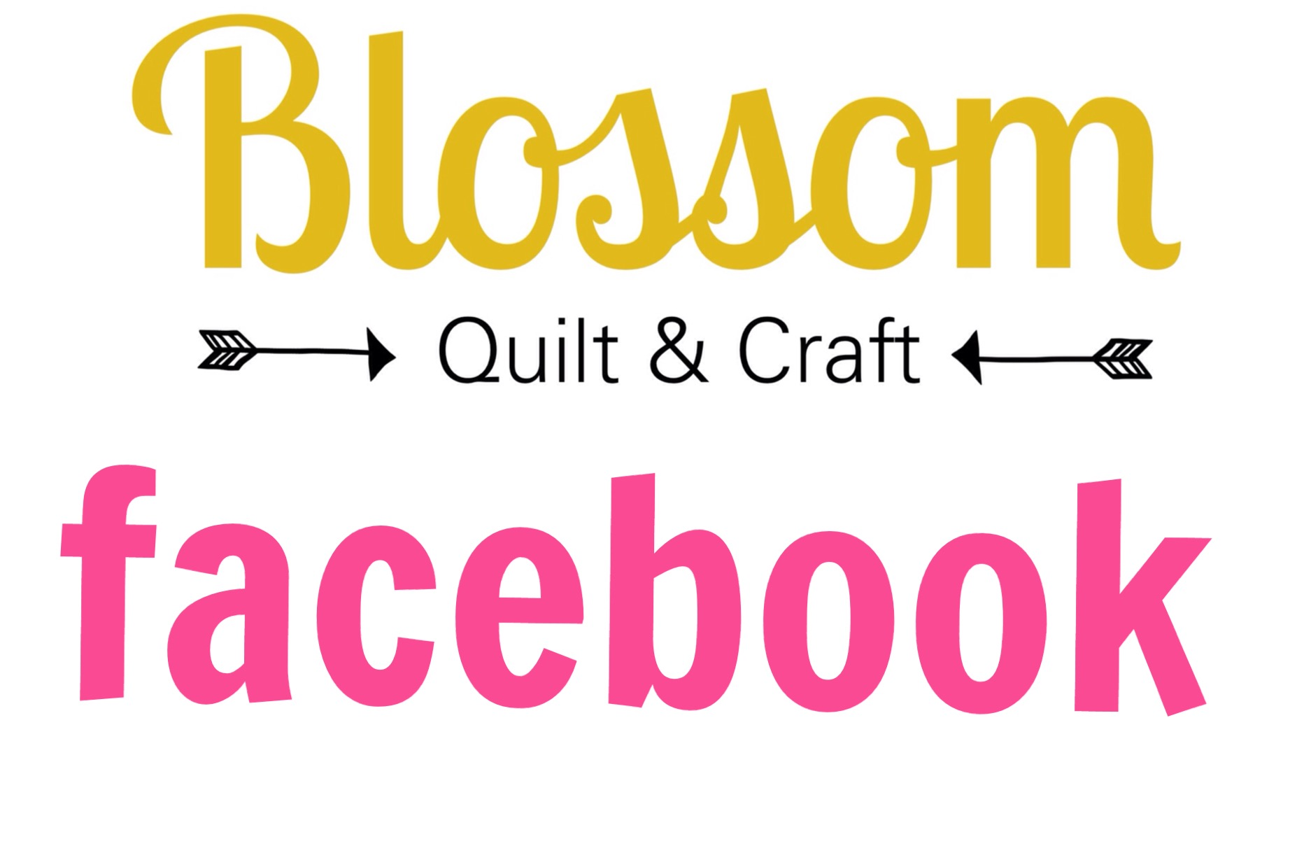 Blossom quilt et craft sur Facebook
