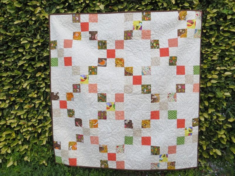 patchwork chaine irlandaise
