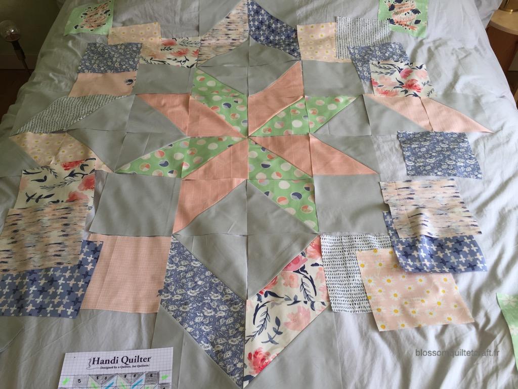 tissus moder patchwork