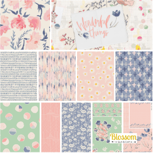 Wonderful Things Blossom Quilt et Craft