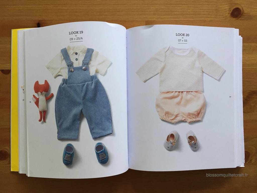 livre garde robe idéale pour bébé lookbook