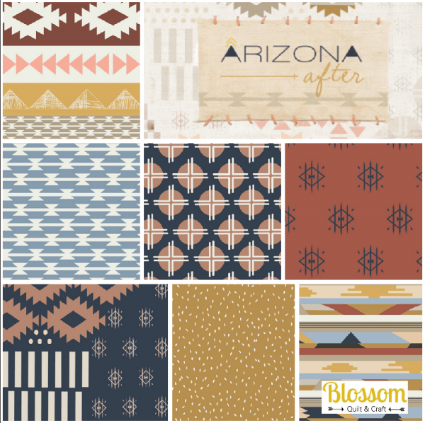 Collection Arizona After Blossom Quilt et Craft logo
