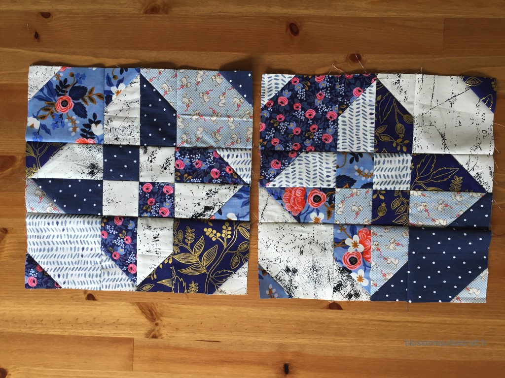 sablier furtif patchwork