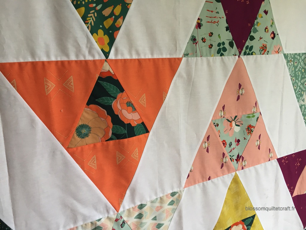patchwork facile triangle