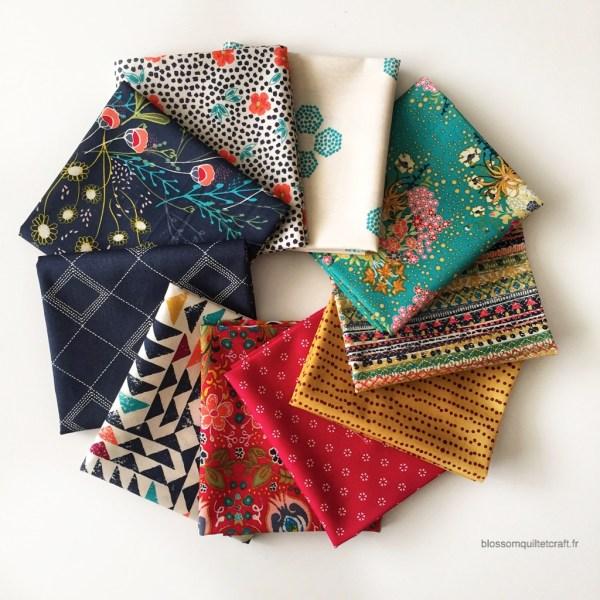 Indie Folk Fe - Blossom Quilt & Craft