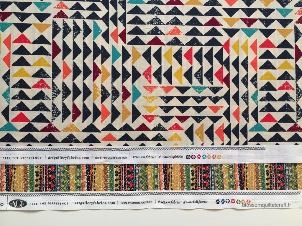 Indie Folk Art Gallery Fabrics tissus patchwork