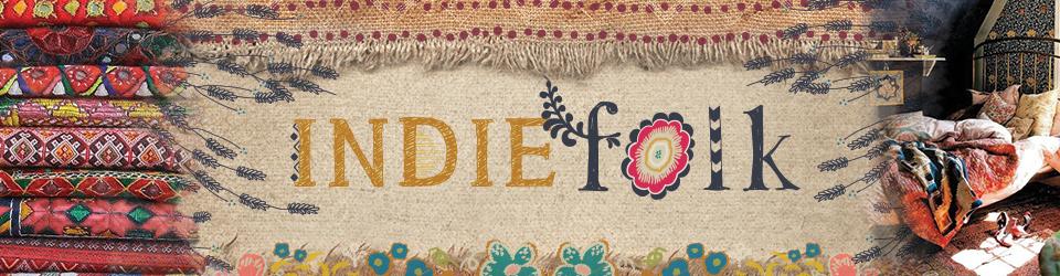 Indie Folk tissus