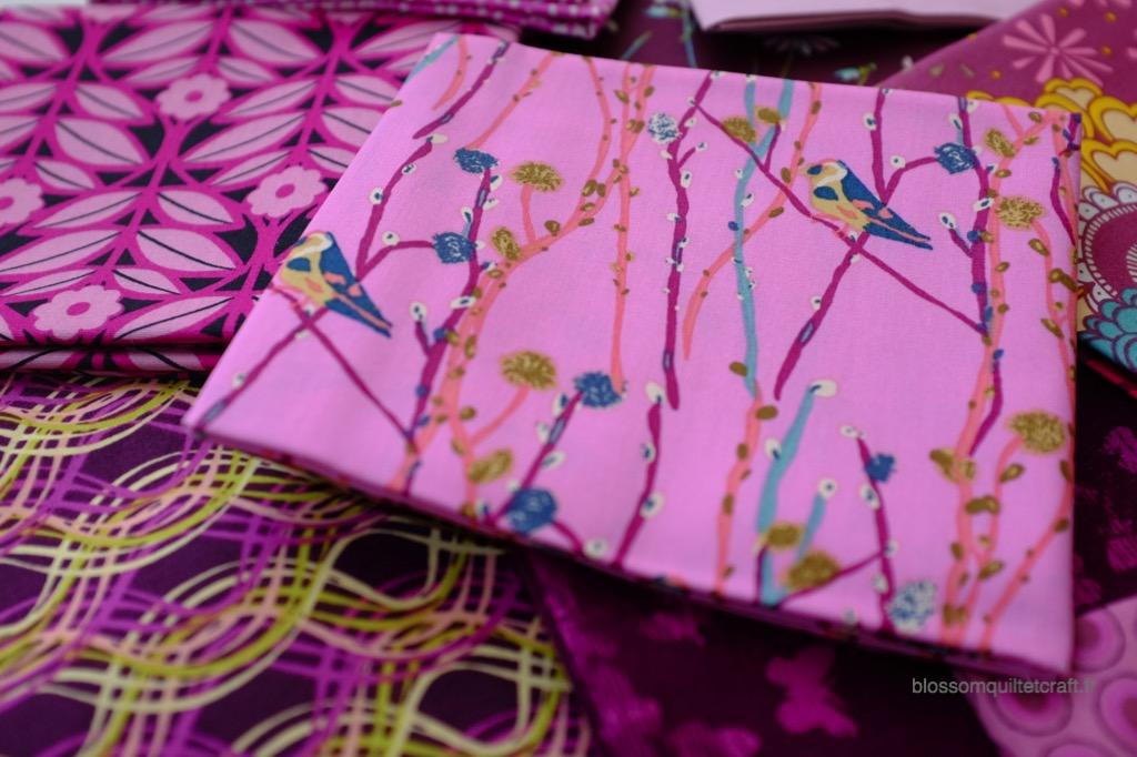 Boite color master 1 moderne tissu patchwork