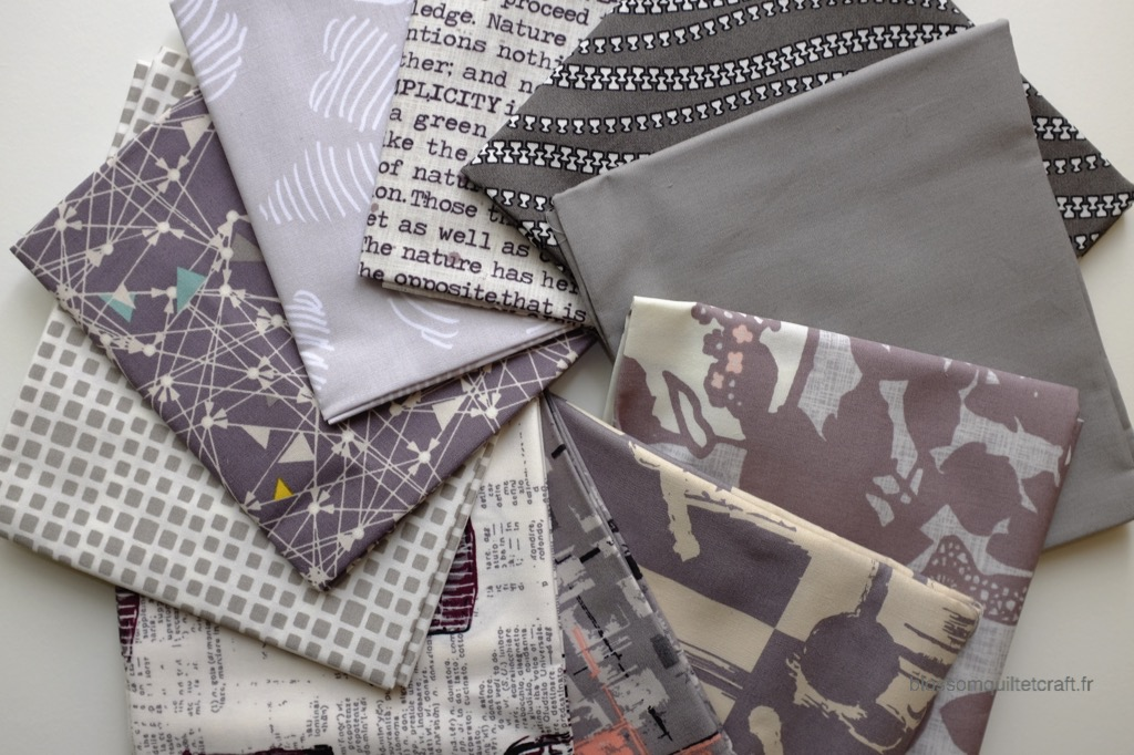 Boite color master 11 tissu pour patchwork