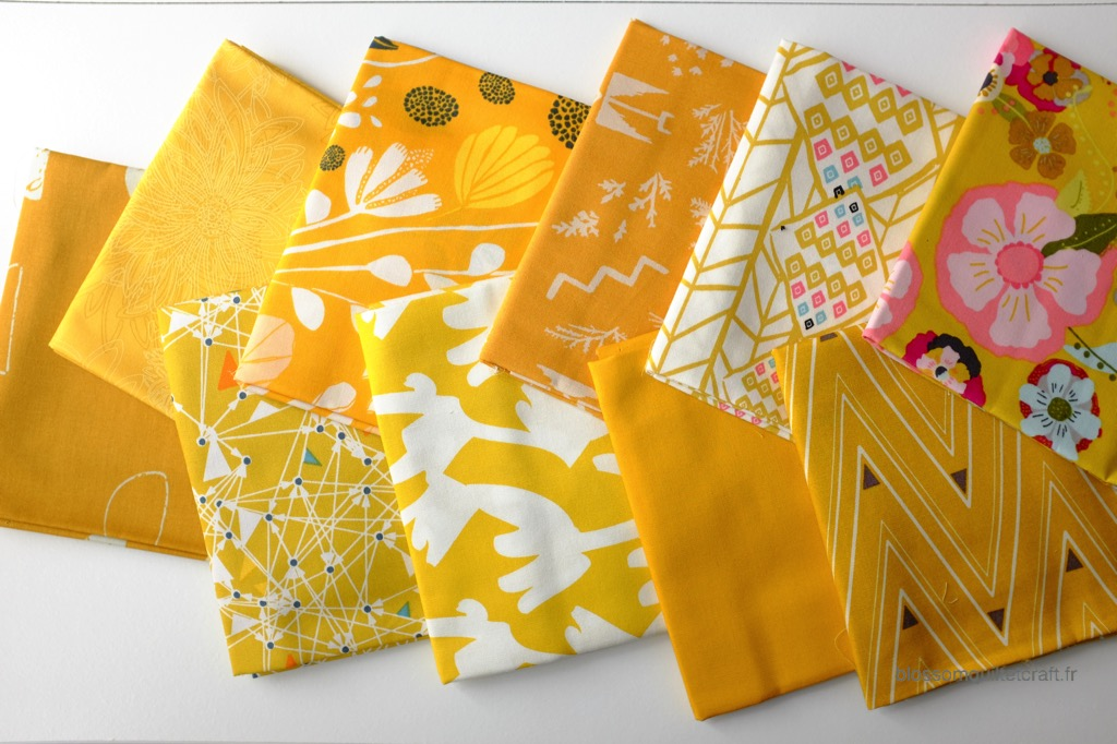 Boite color master 5 tissu patchwork
