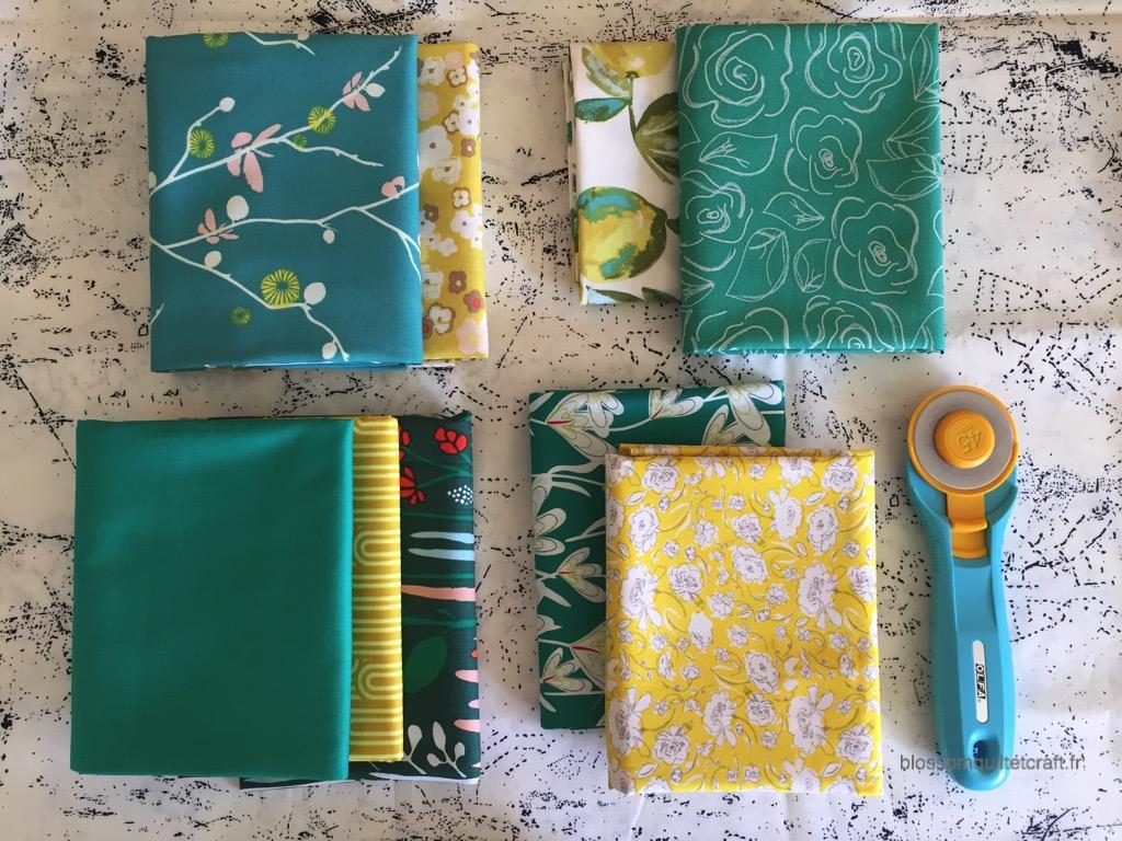 choix des tissus artesane atelier patchwork débutant