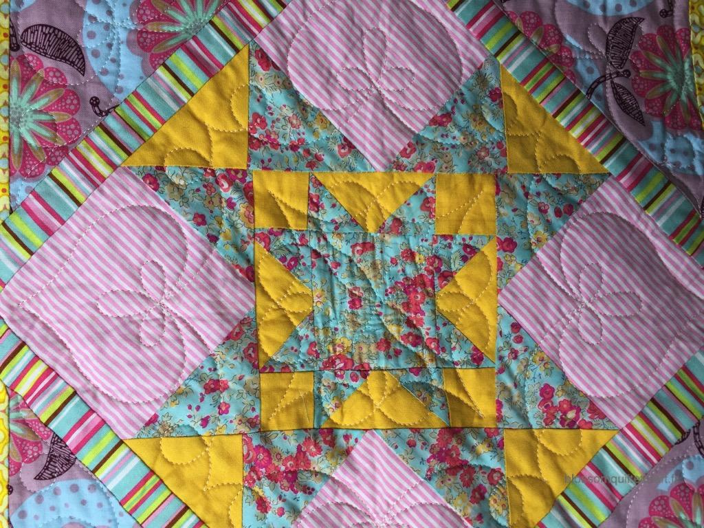 centre etoile patchwork