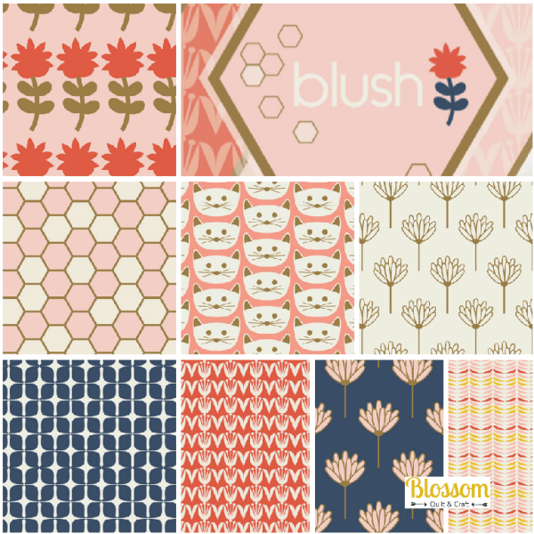 Blush Blossom Quilt et Craft