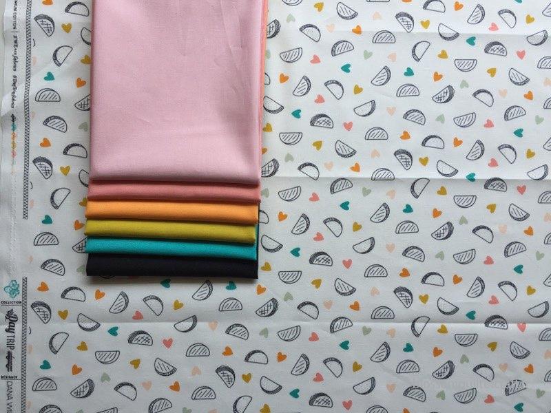 Les unis pour la collection Art Gallery Fabrics