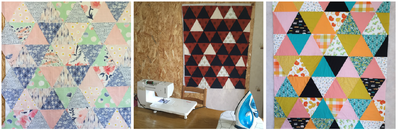 3 projet patchwork triangle