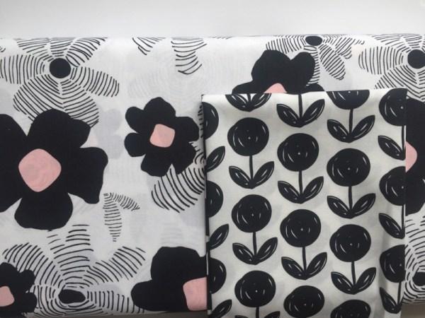 Lagom fleur noir et blanc