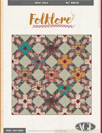 Indie Folk patron modèle patch gratuit