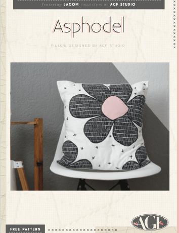 Lagom tutoriel coussin gratuit couture patchwork