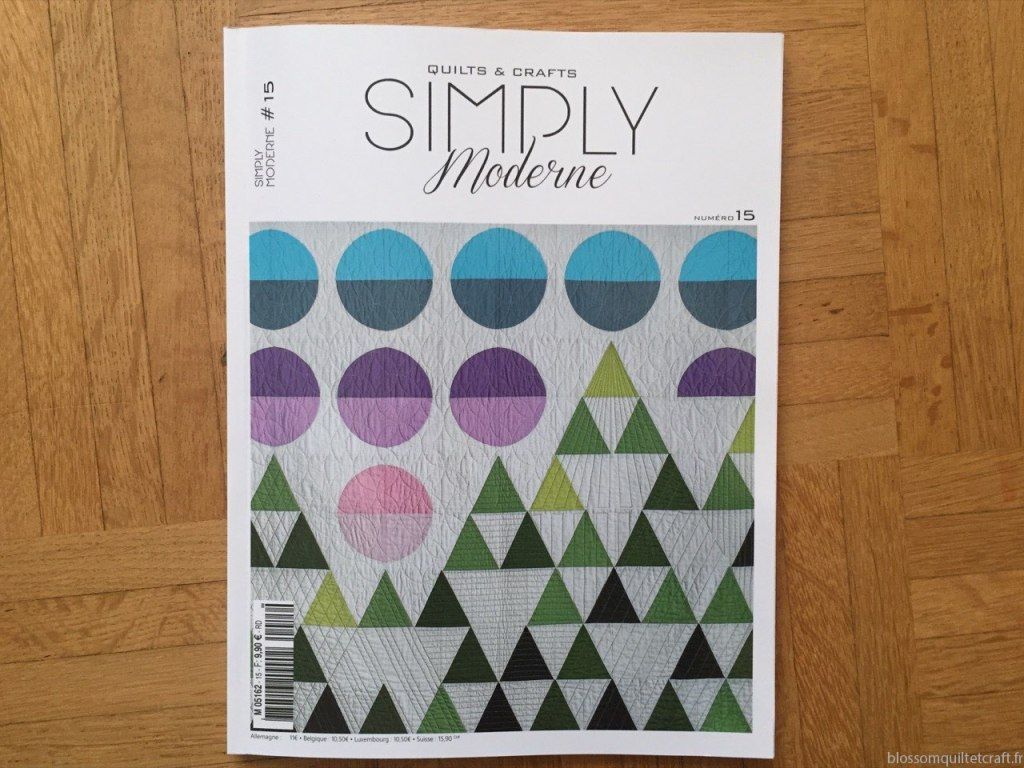 Quiltmania Simply Moderne n15 Hiver 2018 copie