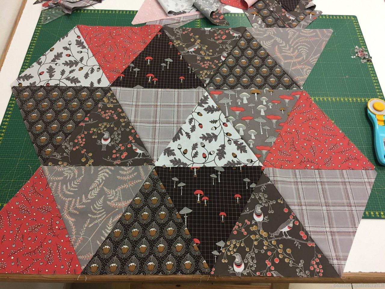 triangle patchwork cours gratuit