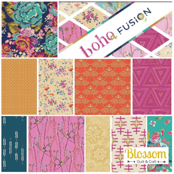 Boho Fusion At Gallery Logo Blossom