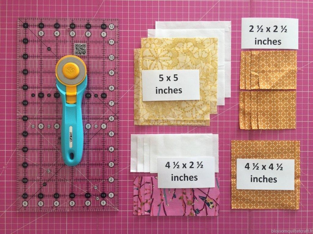 Materiel tuto patchwork