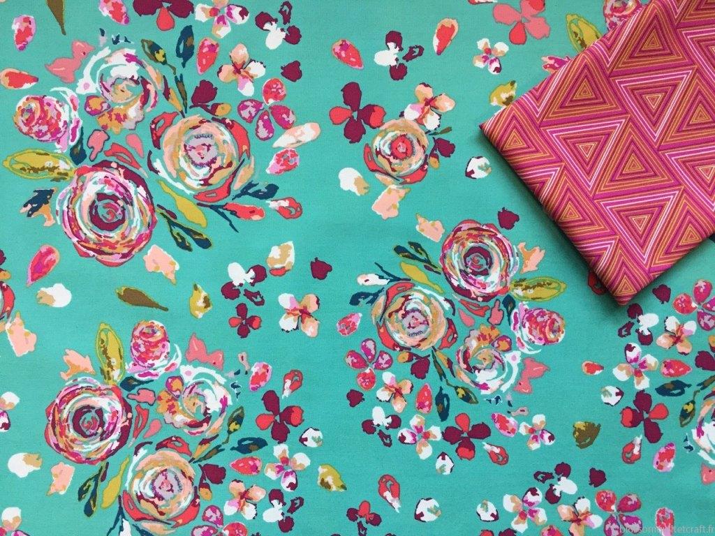 joli tissu pour patchwork