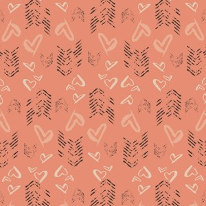 Art Gallery Fabrics LVS - Hearts Fletching Blush