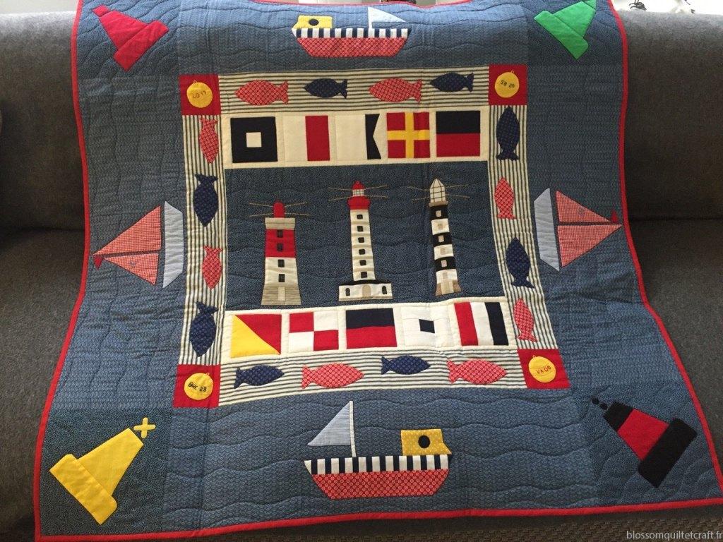 les bateaux patchwork
